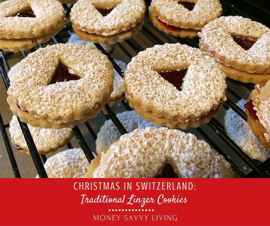Christmas in Switzerland: Traditional Linzer Cookies ...