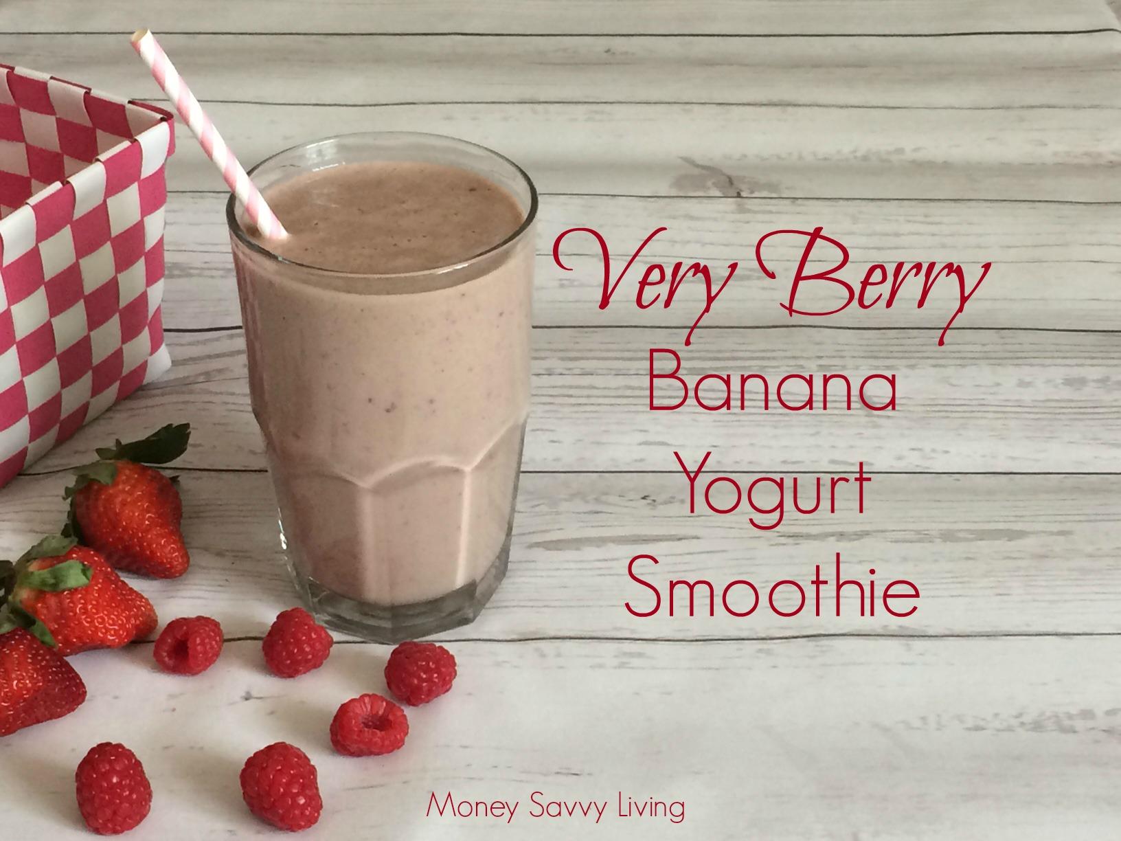 Banana-Yogurt Smoothie Recipe — Dishmaps
